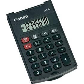 Kalkulačka Canon AS-8 (4598B001) černá