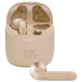 Sluchátka JBL Tune 225TWS zlatá