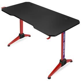 Herní stůl Connect IT NEO (CGD-2019-RD) černý/červený