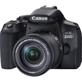 Digitální fotoaparát Canon EOS 850D + 18-55 IS STM (3925C002) černý