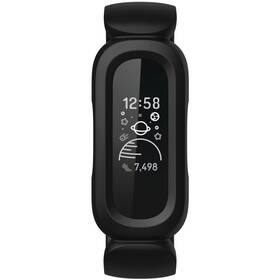 Fitness náramek Fitbit Ace 3 (FB419BKRD) černý/červený