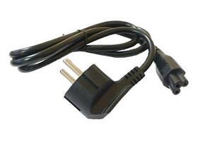 Kabel Avacom pro notebookové zdroje, 1,8m (L-E) černý