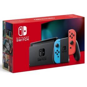 Herní konzole Nintendo Switch s Joy-Con v2 (NSH006) červená/modrá