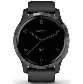 GPS hodinky Garmin vívoactive4 Gray/Black (010-02174-13)