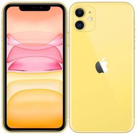 Mobilní telefon Apple iPhone 11 128 GB - Yellow (MHDL3CN/A)