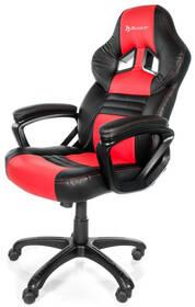 Herní židle Arozzi MONZA (MONZA-RD) černá/červená