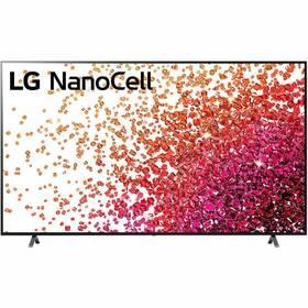 Televize LG 86NANO75P šedá