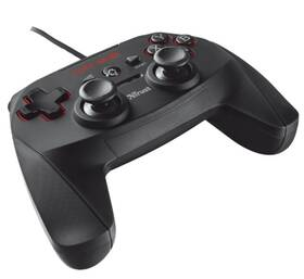 Gamepad Trust GXT 540 Wired pro PC, PS3 (20712) černý