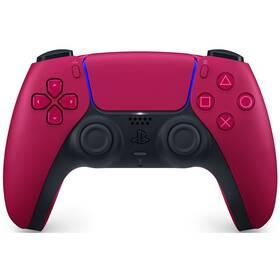 PlayStation 5 Dualsense Wireless Controler - kosmicky červený
