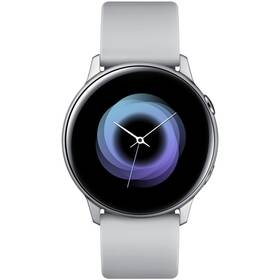 Chytré hodinky Samsung Galaxy Watch Active (SM-R500NZSAXEZ) stříbrná