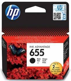Inkoustová náplň HP No. 655, 550 stran - originální (CZ109AE) černá