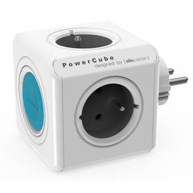 Rozbočovací zásuvka Powercube Original SmartHome bílá/modrá