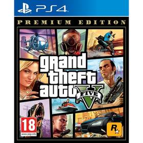 Hra RockStar PlayStation 4 Grand Theft Auto V - Premium Edition (5026555424264)