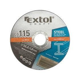 Řezný kotouč EXTOL Craft na kov, 5ks, 115x1,0x22,2mm