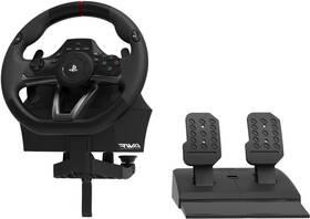 Volant HORI Racing Wheel Apex pro PS5, PS4, PS3, PC + pedály (ACP464311) černá