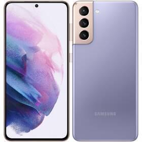 Mobilní telefon Samsung Galaxy S21 5G 128 GB - ZÁNOVNÍ - 12 měsíců záruka fialový