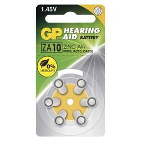 Baterie do naslouchadel GP ZA10, blistr 6ks (B3510)