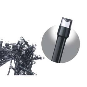 Spojovací řetěz EMOS 100 LED krápník, 2,5m, studená bílá (1534990041)