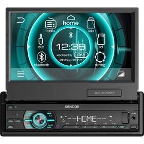 Autorádio s LCD Sencor SCT 9411BMR černá