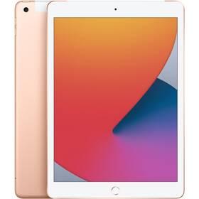 Dotykový tablet Apple iPad (2020) Wi-Fi + Cellular 128GB - Gold (MYMN2FD/A)