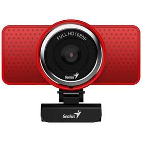 Webkamera Genius ECam 8000, Full HD (32200001407) červená