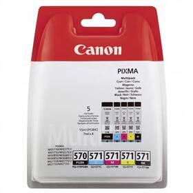 Inkoustová náplň Canon PGI-570/CLI-571 PGBK/C/M/Y/BK MULTI BL (0372C004)