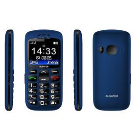 Mobilní telefon Aligator A670 Senior (A670BE) modrý