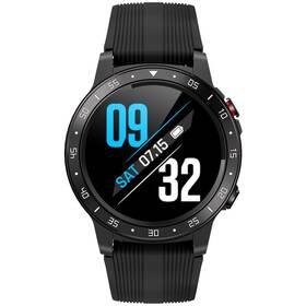 Chytré hodinky Carneo G-Cross platinum - ZÁNOVNÍ - 12 měsíců záruka černá