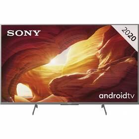 Televize Sony KD-49XH8577 stříbrná