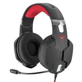 Headset Trust GXT 322 Carus (20408) černý