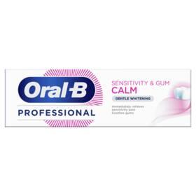 Zubní pasta Oral-B Sensitivity + Gum Calm Gentle Whitening PRO 75ml