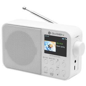 Radiopřijímač s DAB+ GoGEN DAB 500 BT C bílý