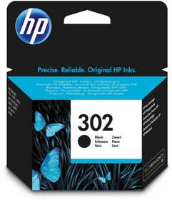 Inkoustová náplň HP 302, 190 stran (F6U66AE) černá