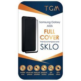 Tvrzené sklo TGM Full Cover na Samsung Galaxy A02s (TGMFCSGA02S) černé