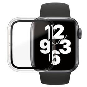 Tvrzené sklo PanzerGlass Full Protection na Apple Watch 4/5/6/SE 40mm s rámečkem (3642) průhledné