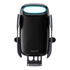 Držák na mobil Baseus Milky Way Aurora Electric Automatic Holder Wireless Charging 15W (WXHW02-01) černý