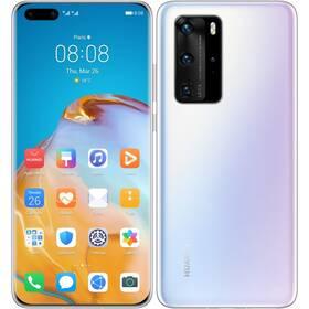 Mobilní telefon Huawei P40 Pro (HMS) 5G (SP-P40P256DSWOM) bílý