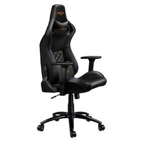 Herní židle Canyon Nightfall (CND-SGCH7) černá/oranžová