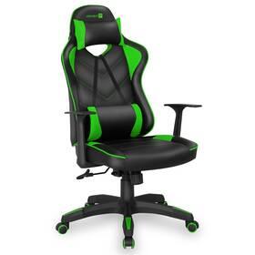 Herní židle Connect IT LeMans Pro (CGC-0700-GR) černá/zelená