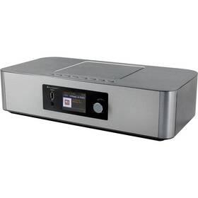 Internetový radiopřijímač Soundmaster HighLine ICD2020 stříbrný
