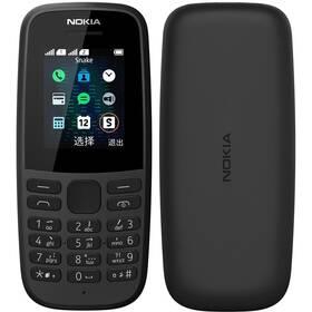 Mobilní telefon Nokia 105 (2019) (16KIGB01A04) černý