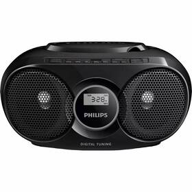 Radiopřijímač s CD Philips AZ318B černý