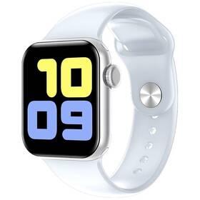 Chytré hodinky Carneo Gear+ CUBE (8588007861241) stříbrné