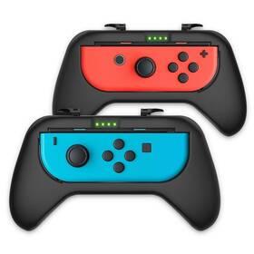 Gamepad Nitho Grip Handles pro Nintendo Switch, 2ks (NSW-JCGH-K) černý