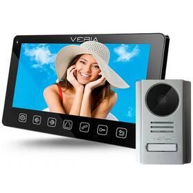 Dveřní videotelefon VERIA set videotelefonu VERIA 7070C + VERIA 229 (S-7070C-229) černý