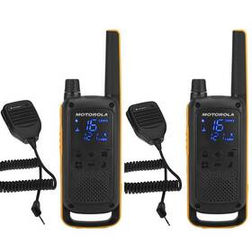 Vysílačky Motorola TLKR T82 Extreme RSM Pack (B8P00811YDZMAG) černý/žlutý