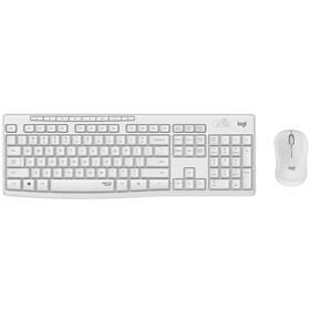 Klávesnice s myší Logitech MK295 Silent Wireless Combo US (920-009824) bílá