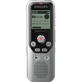 Diktafon Philips DVT1250 černý/stříbrný