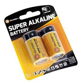 Baterie alkalická GoGEN SUPER ALKALINE C, LR14, blistr 2ks (GOGR14ALKALINE2)