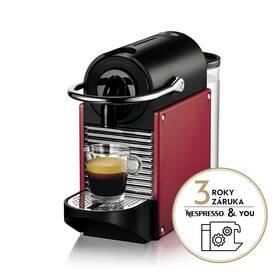 Espresso DeLonghi Nespresso EN124.R červené